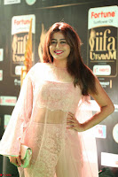 Nidhi Subbaiah Glamorous Pics in Transparent Peachy Gown at IIFA Utsavam Awards 2017  HD Exclusive Pics 28.JPG