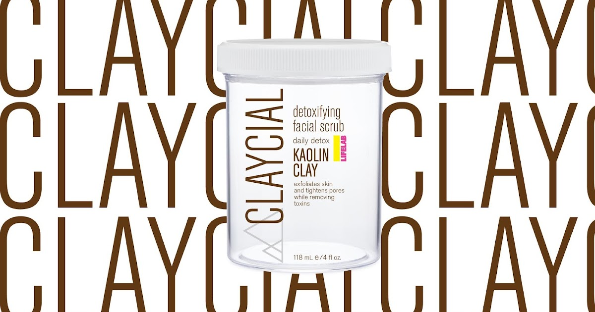 Claycial -  Facial Scrub / Kaolin Clay