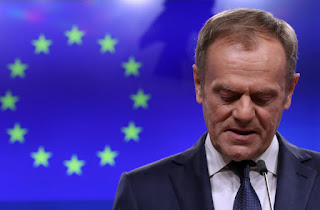 The remark by Tusk, who chairs summits of the EU's national leaders, angered Brexit supporters in Britain.