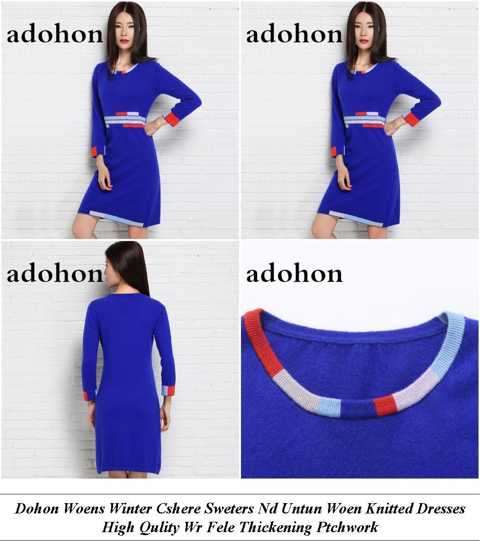 Womens Clothing Dresses - Huge Sale - Velvet Dress - Cheap Branded Clothes