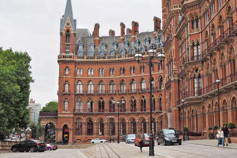 Hôtel St Pancras à Londres