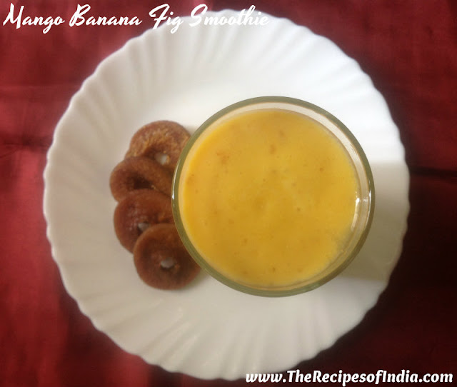mango banana fig smoothie