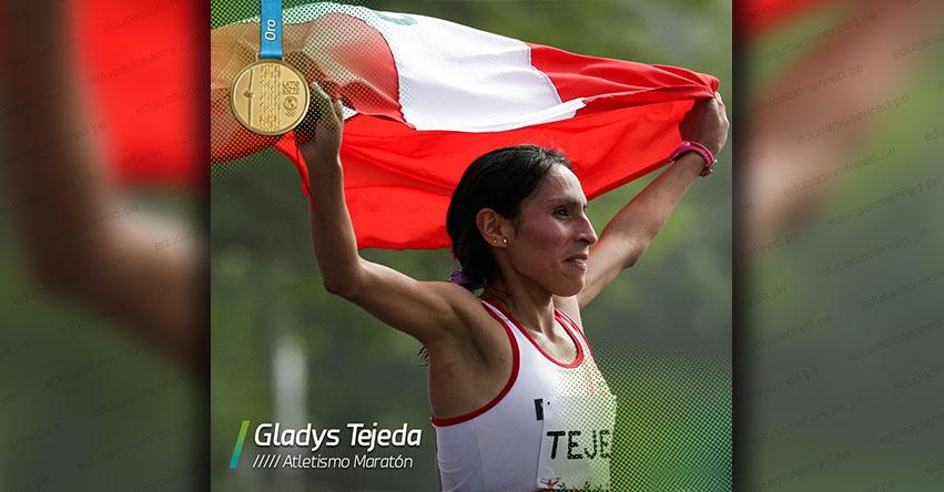 GLADYS TEJEDA: Fondista peruana gana medalla de oro en los Panamericanos - Lima 2019