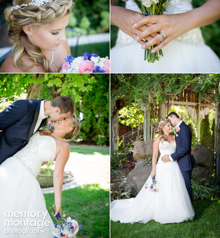 Ashley Nathan Ommen Cascade Garden Yakima Wedding