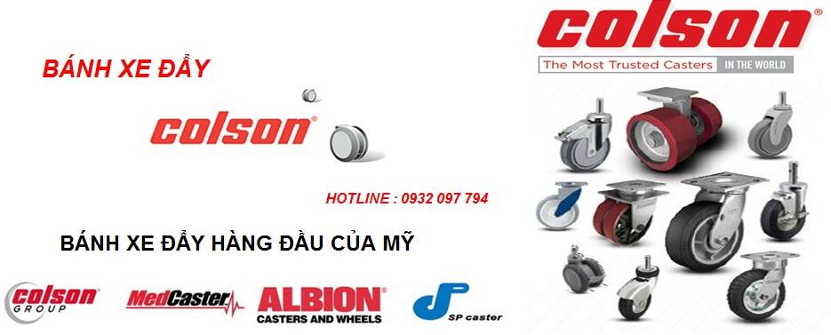 Bán bánh xe đẩy hàng Colson tại Hà Nội