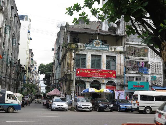 Calles de Yangón