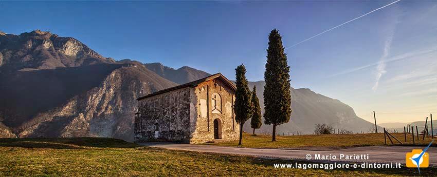 La chiesa di san Vigilio a Rovio