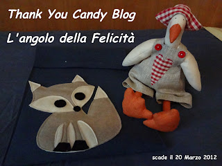"BLOG CANDY  ""thank you"""