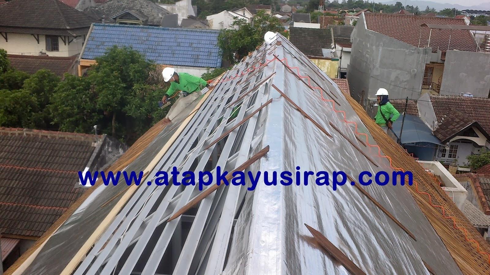 baja ringan ekspose supplier atap sirap kayu ulin + jasa pasang termurah ...