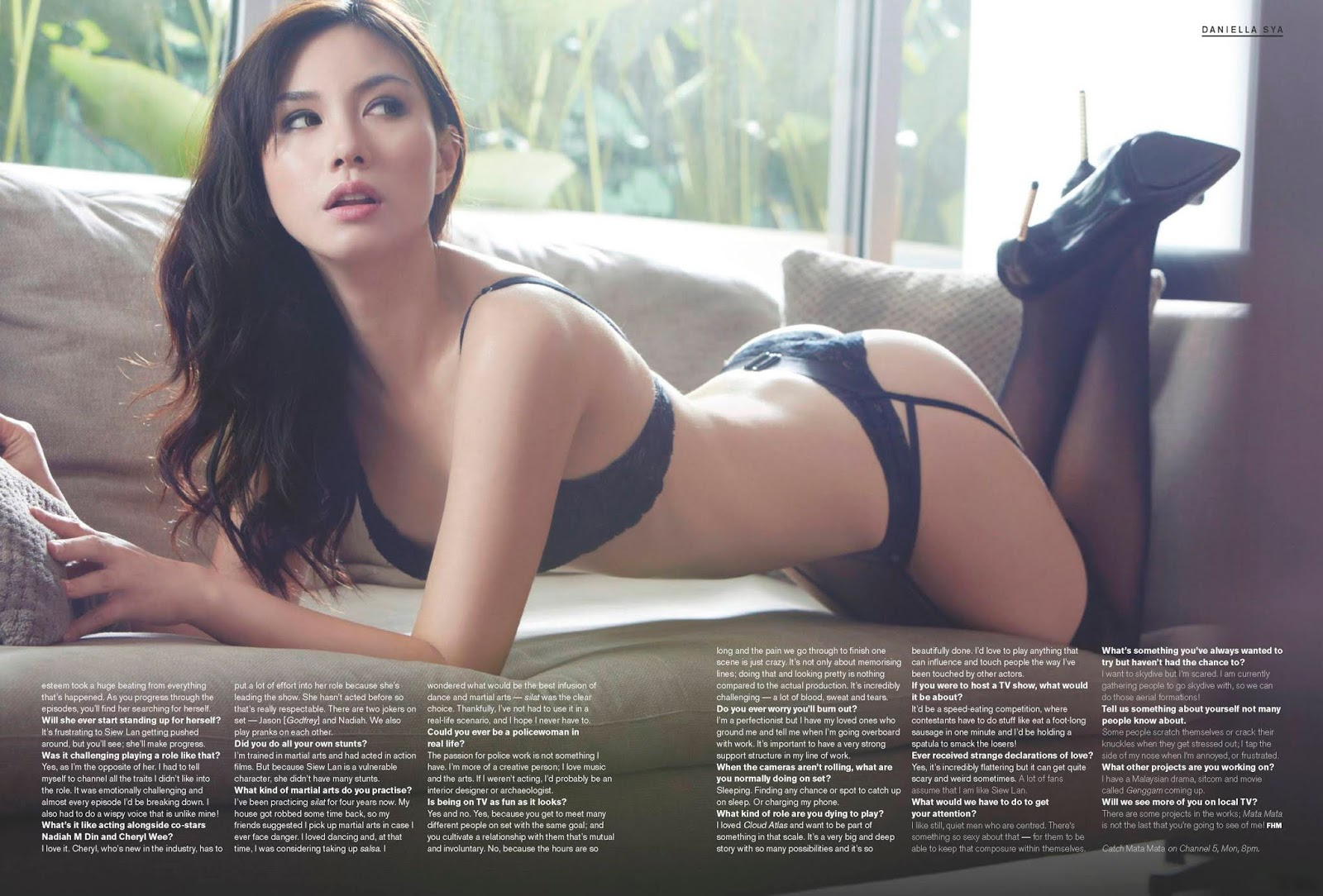 See and save as singaporean fhm model jenelle ong nude lesbian pics leaked porn pict