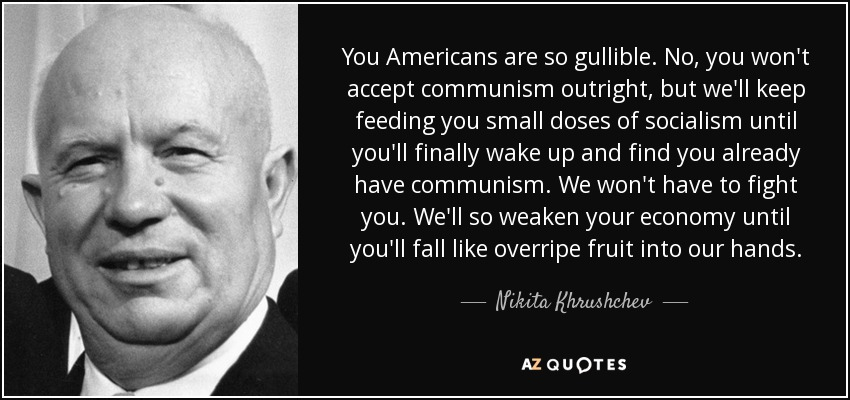 ABCs of DumbDown: Communism: Are We There Yet? Read This ...