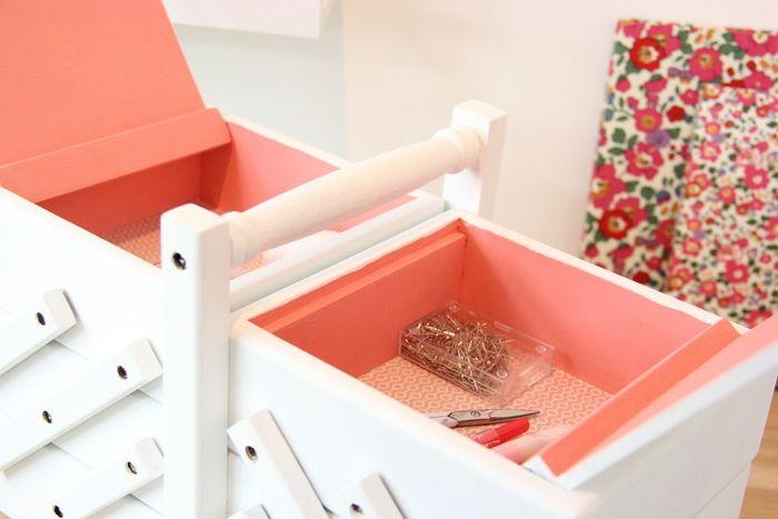 Roses et confettis solutions de rangement pour son for Rangement fil de couture