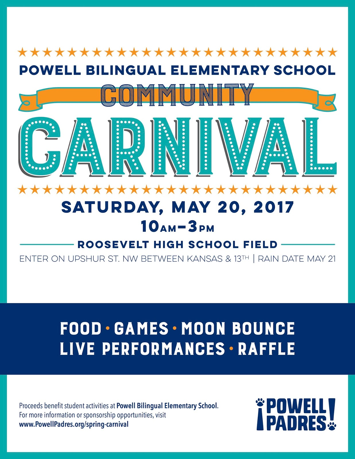 new columbia heights help powell elementary this saturday at their