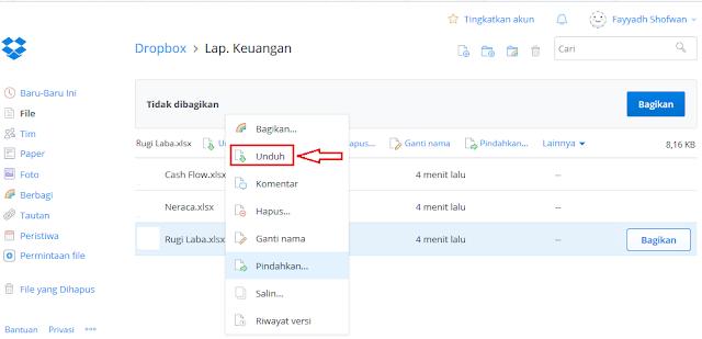 Cara Mengambil File Yang Tersimpan Di Dropbox Cara Mengambil File Yang Tersimpan Di Dropbox