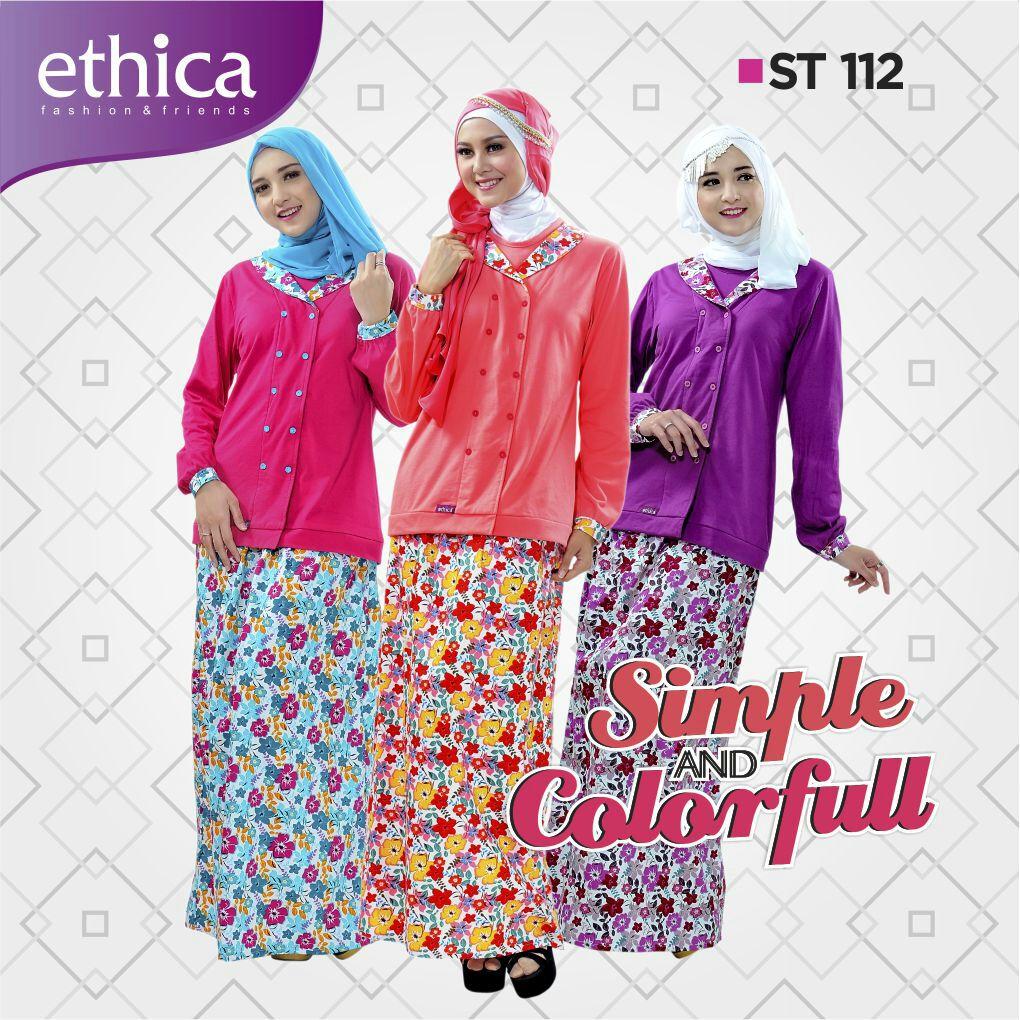 Koleksi Baju Setelan Muslimah Ethica St 112