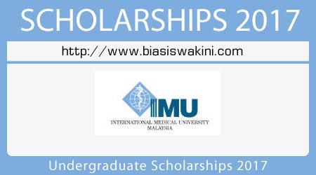 Undergraduate Scholarships 2017