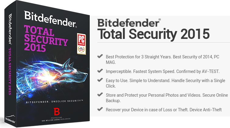 Bitdefender Total Security 2015 NKWorld4U