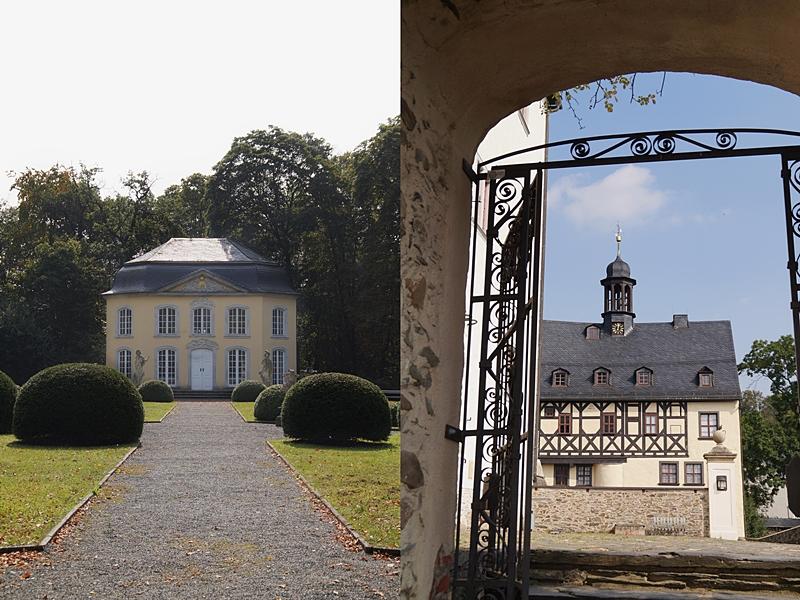 Schloss Burgk + Pavillon Sophienlust, Thüringen