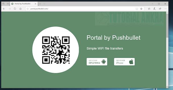 Mentransfer Data Dari PC atau Laptop ke Ponsel Android dengan Wifi