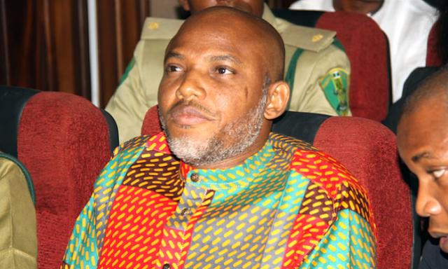 I don't believe in restructuring of Nigeria - Nnamdi Kanu