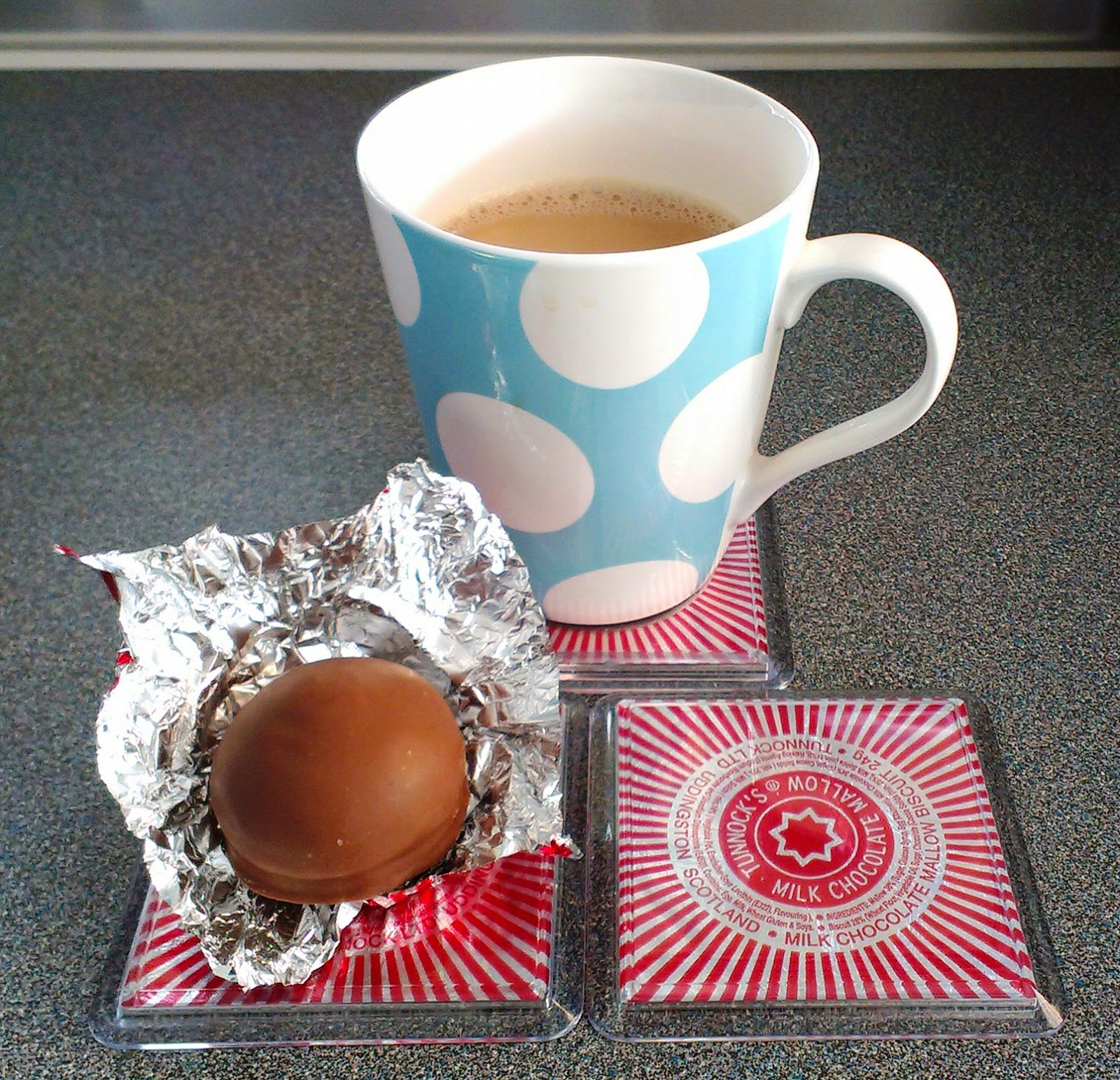 Tunnocks Teacakes Coasters