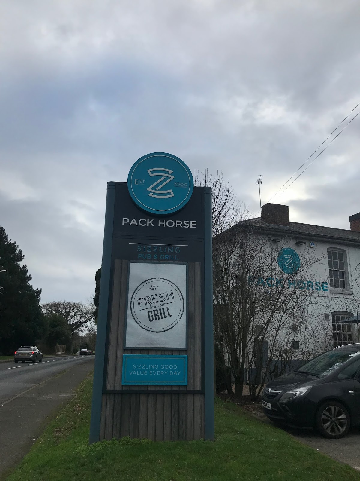 Pack Horse Pub Sign
