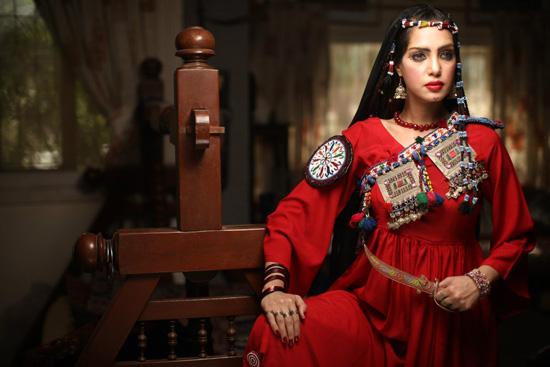 Sarah Gandapur Designs   Pakhtoon Inspired Dresses