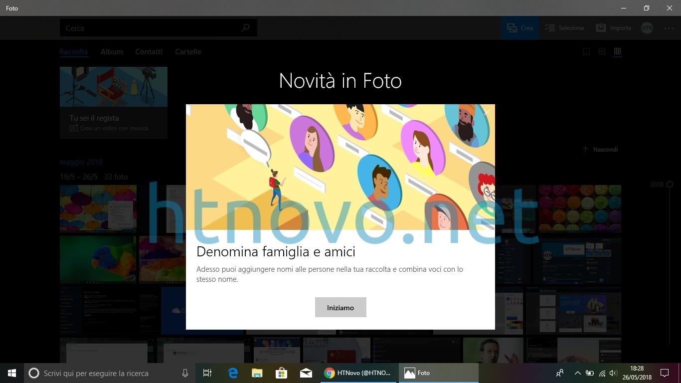 Aggiornamento-app-Foto-Windows-10-1803