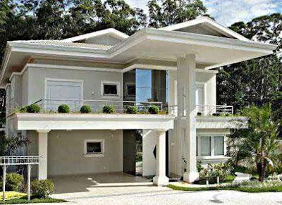 Model Desain Rumah Minimalis 2 Lantai Sederhana Kelihatan Sehat