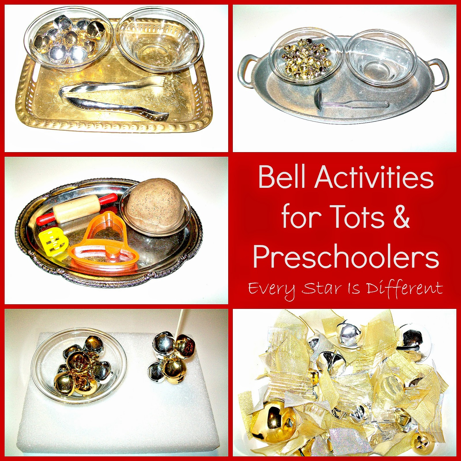 Bell Activities for Tots & Preschoolers