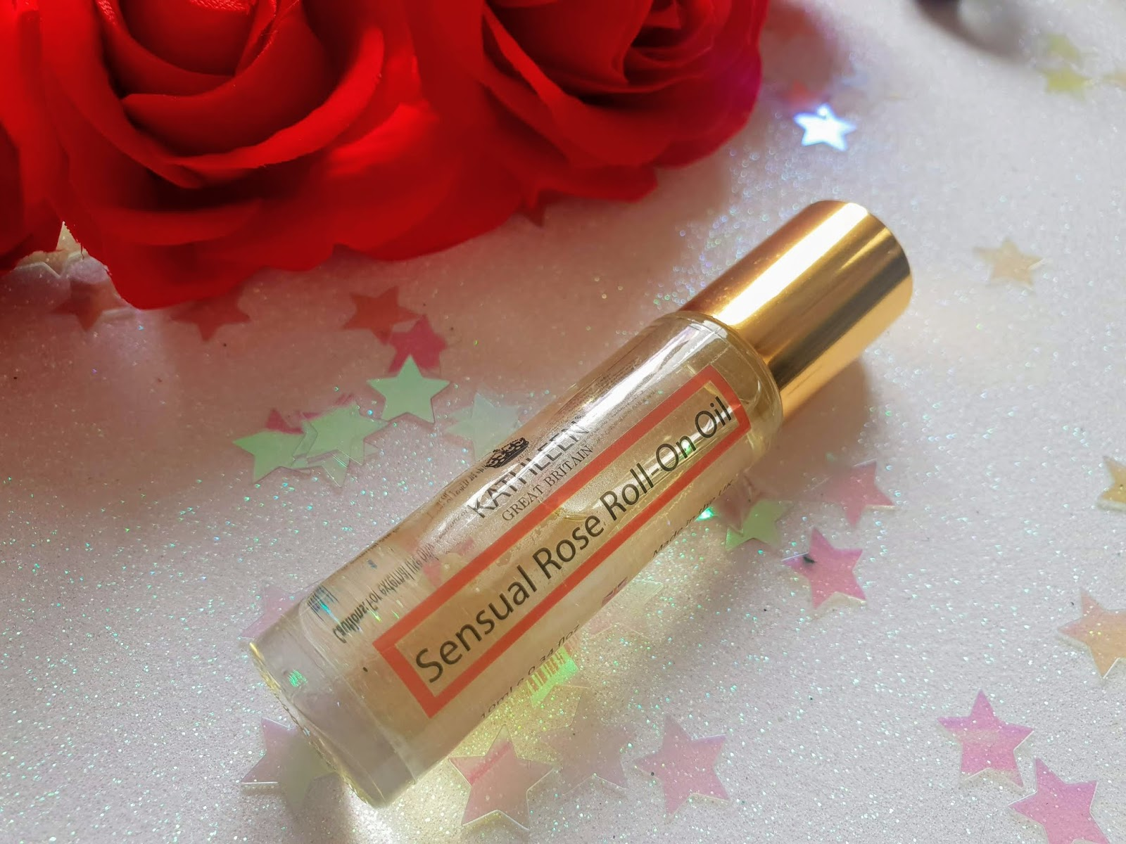 Kathleen Sensual Rose Roll-On Oil