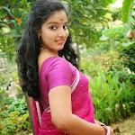 South Indian Actress Malavika Menon in Saree