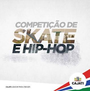 Sábado é dia de Cypher na Pista: competições de  skate e hip-hop