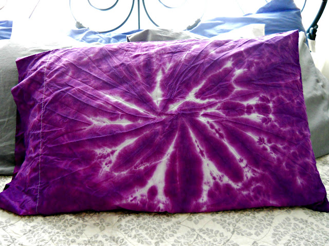 The Metric Child Diy Tie Dyed Pillow Cases