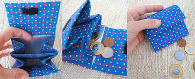 ideia artesanato reciclar reciclagem reciclando diy caixa leite caixinha sustentabilidade carteira porta moeda niquel