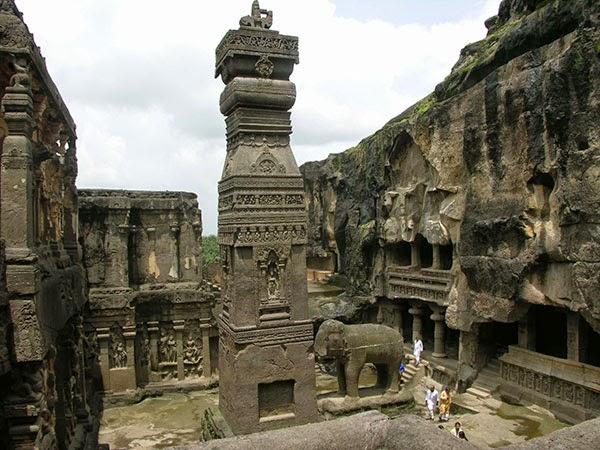 Templo de Kailasa, India