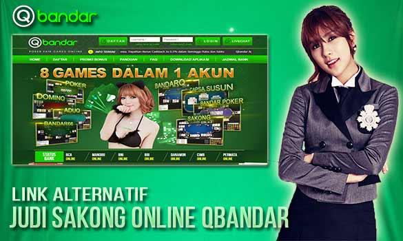 Link Alternatif Judi Sakong Online Qbandar