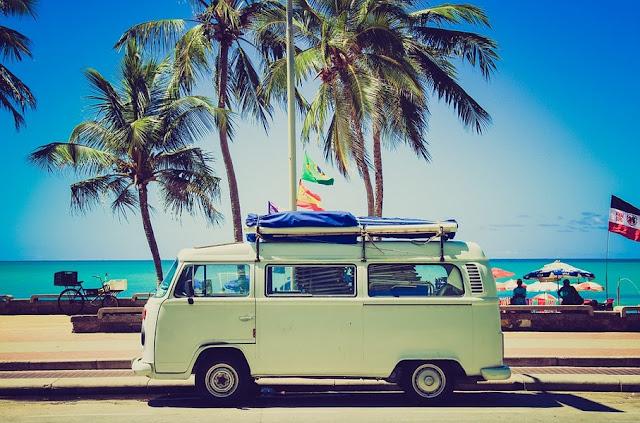 van in adventure