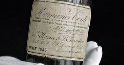 blog vin Beaux-Vins oenologie degustation vin plus cher au monde romanee conti 1945