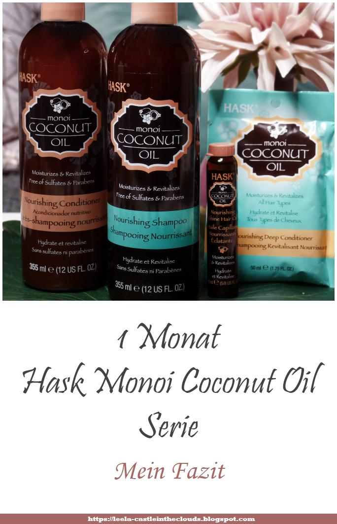 Hask Monoi Coconut Oil Serie