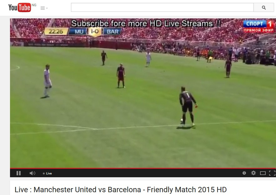 manchester united youtube