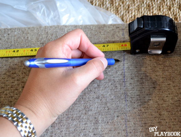 measuring rug