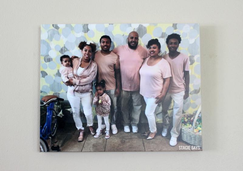 a family wall art canvas