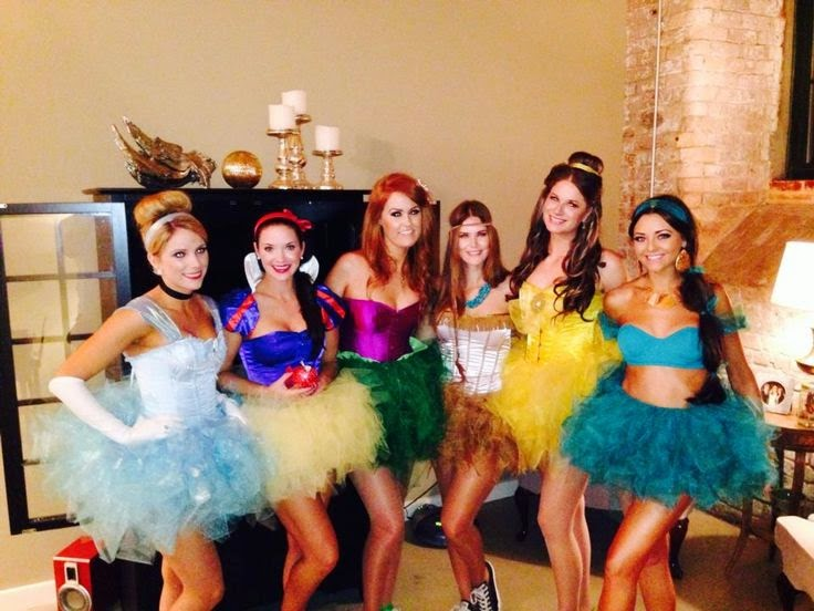 Disney Princess DIY Group Costumes