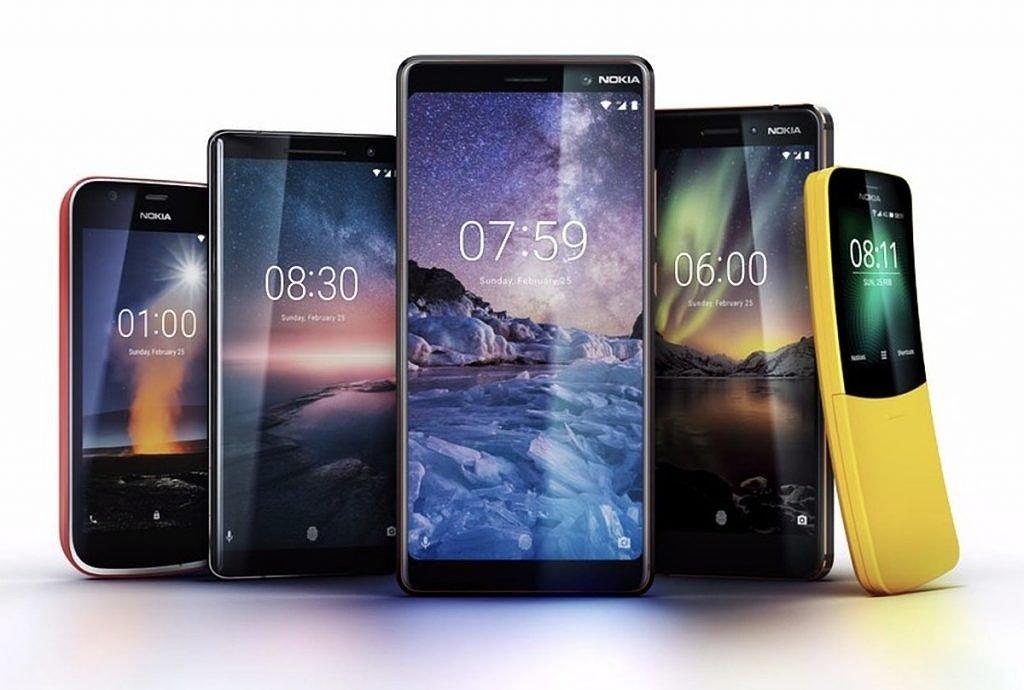 HMD Global Unveils Nokia 8 Sirocco, Nokia 7 Plus, Nokia 6 (2018), and Nokia 1 (Android Go Edition) #MWC2018