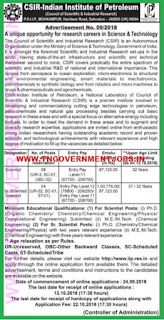 csir-iip-scientist-recruitment-tngovernmentjobs