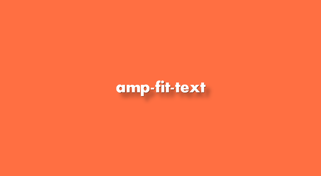 ¿Cómo insertar amp-fit-text?