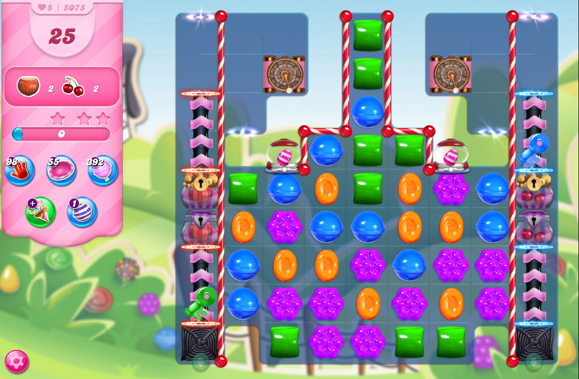 Candy Crush Saga level 5075