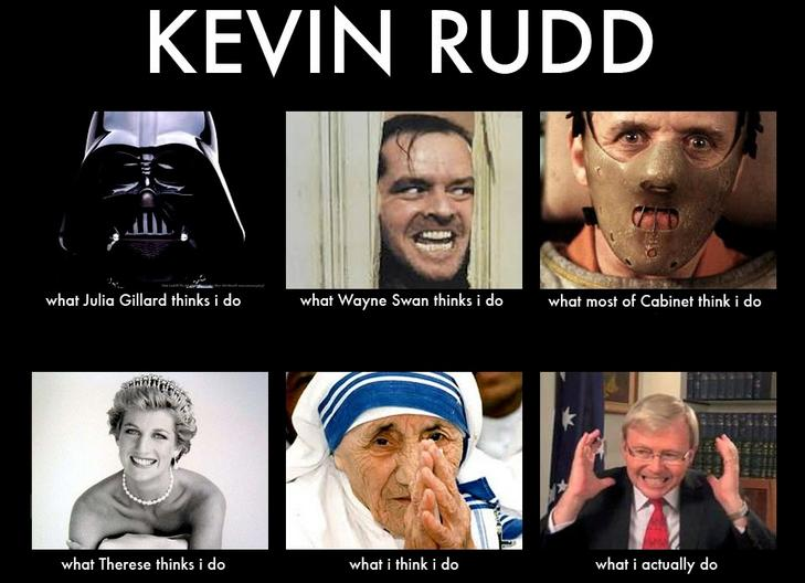 Quote Unquote Kevin Rudd What People Think I Do