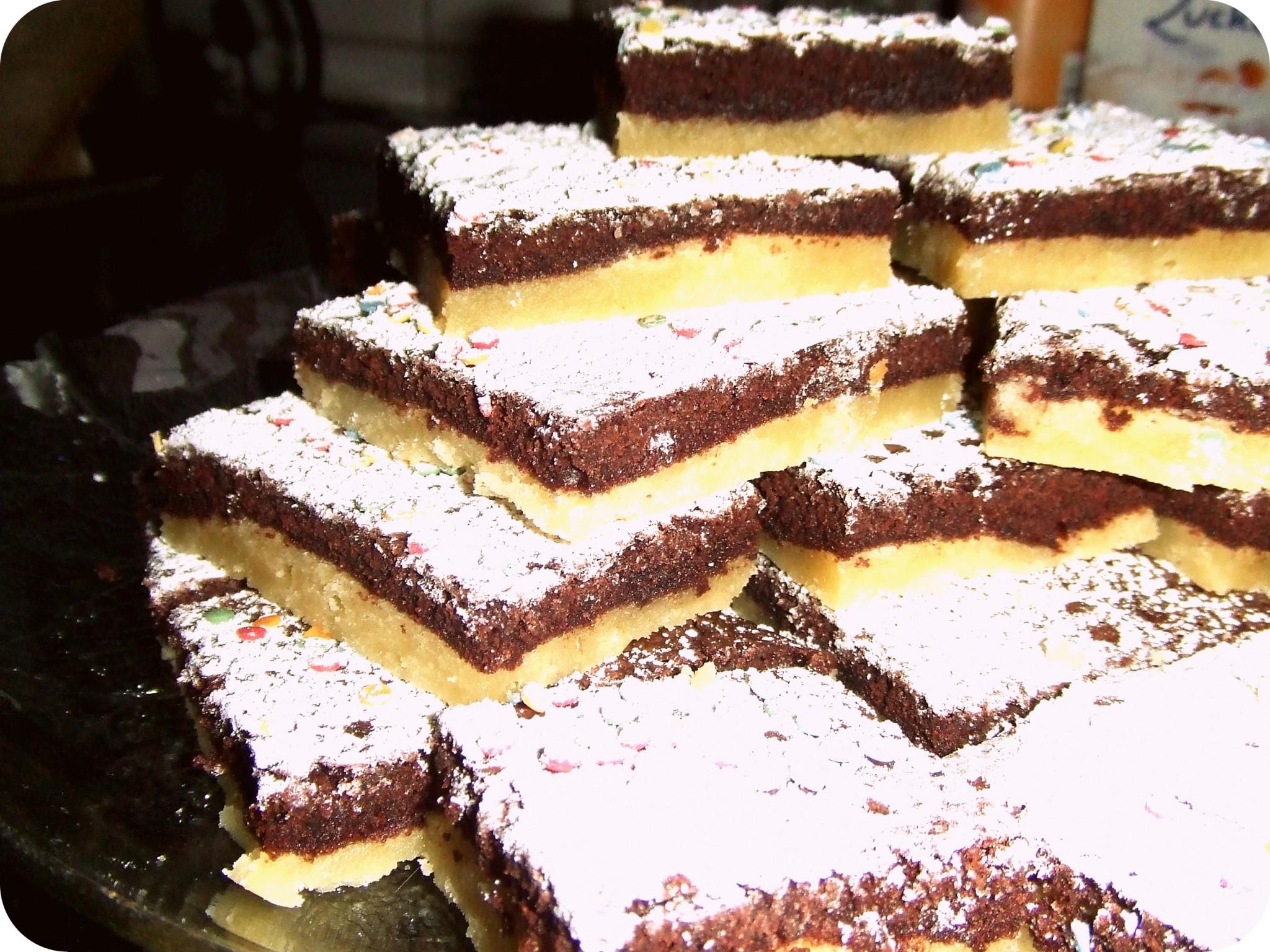 Shortbread-Brownies
